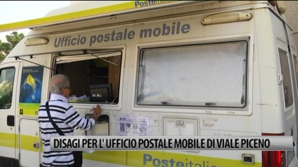 Fano: disagi all'ufficio postale di viale Piceno – VIDEO