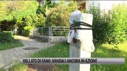 Vallato di Fano: vandali ancora in azione – VIDEO