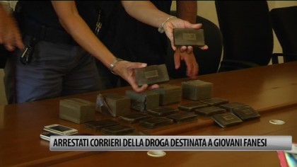 Arrestati corrieri della droga, destinata agli studenti di Fano – VIDEO
