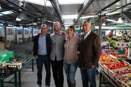 Ricci e Belloni: «Il Mercato delle Erbe? Nei weekend sarà un'officina di attività ed eventi»