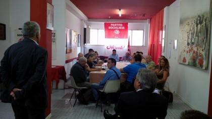 Mirco Pagnetti rieletto all'unanimità segretario del PSI fanese