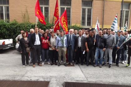 Presidio lavoratori King domani davanti al Tribunale di Pesaro