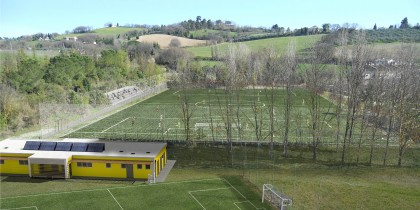 Nuovo campo da calcio omologato per la serie A. Sarà inaugurato mercoledì all'Arzilla