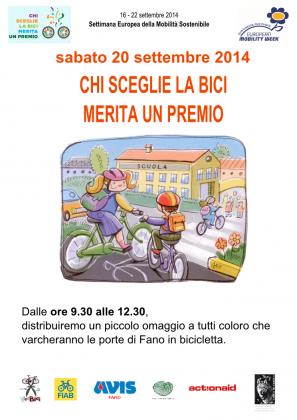 """For-Bici FIAB: """"Chi sceglie la bici merita un premio!"""""""