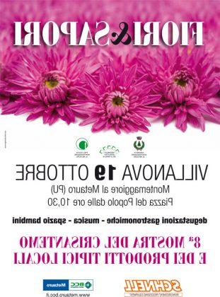 """Mostra mercato """"Fiori e Sapori"""": 18 e 19 ottobre a Montemaggiore al Metauro"""