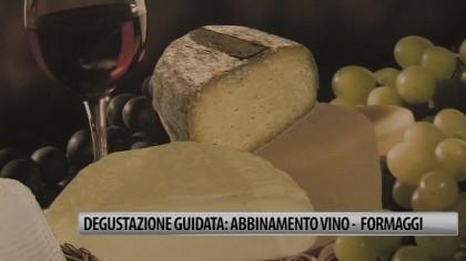 Degustazione guidata: abbinamento vino – formaggio – VIDEO