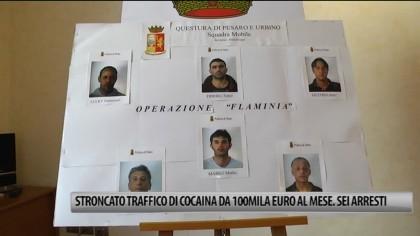 Stroncato traffico di cocaina purissima da 100mila euro al mese. Sei arresti tra cui un fanese – VIDEO