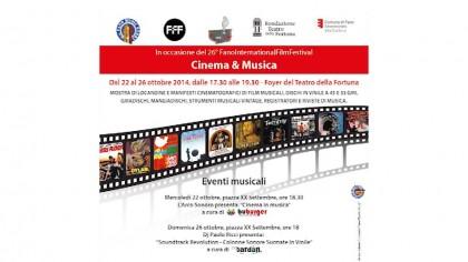 """Mostra """"Cinema e Musica"""": dal 22 ottobre al Teatro della Fortuna di Fano – VIDEO"""