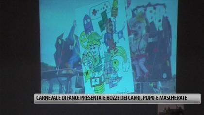 Carnevale di Fano: presentate bozze dei Carri, Pupo e Mascherate dell'edizione 2015 – VIDEO