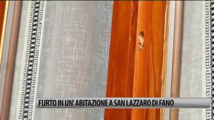 Furto in un'abitazione a San Lazzaro di Fano – VIDEO