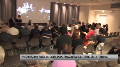 Presentazione bozzetti dei Carri, Pupo e Mascherate stasera al Teatro della Fortuna – VIDEO