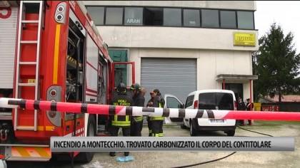 Incendio in una fabbrica a Montecchio. Trovato il corpo carbonizzato di uno dei titolari – VIDEO