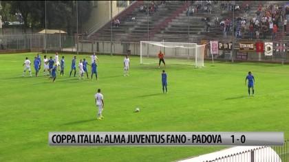 Coppa Italia: Alma Juventus Fano – Padova 1-0  – VIDEO