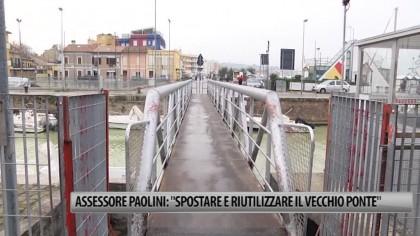 """Assessore Paolini: """"Spostare e riutilizzare il vecchio ponte"""" – VIDEO"""