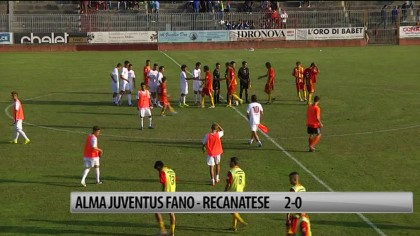 Alma Juventus Fano – Recanatese 2-0 – VIDEO
