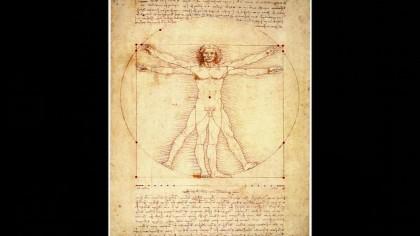 L'Uomo Vitruviano di Leonardo nella Chiesa di San Michele – VIDEO