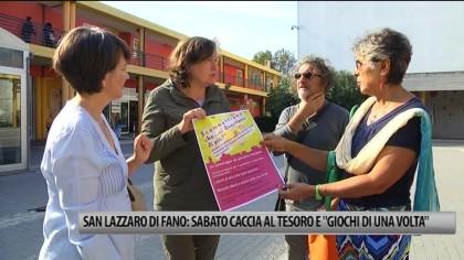 """San Lazzaro di Fano: sabato caccia al tesoro  e  """"giochi di una volta"""" – VIDEO"""