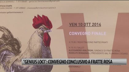 """""""Genius Loci"""": convegno conclusivo a Fratte Rosa  – VIDEO"""