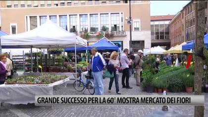 Pesaro, grande successo per la 60esima Mostra Mercato dei Fiori – VIDEO