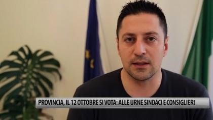 Provincia, il 12 ottobre si vota: alle urne sindaci e consiglieri – VIDEO