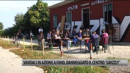 """Vandali in azione a Fano: danneggiato lo spazio """"Grizzly"""". Tanta la solidarietà – VIDEO"""