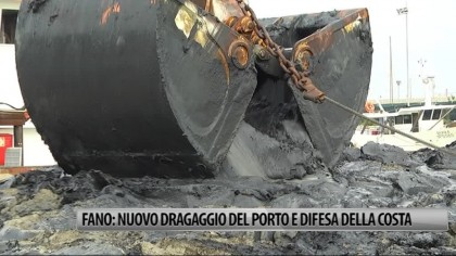 Fano, nuovo dragaggio del porto e difesa della costa – VIDEO