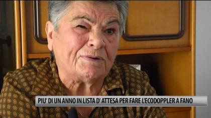 Più di un anno in lista d'attesa per fare l'ecodoppler a Fano – VIDEO