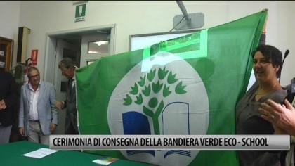 Cerimonia di consegna della bandiera verde Eco-School – VIDEO