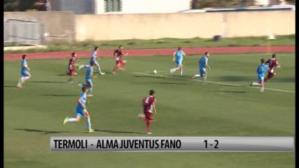Termoli – Alma Juventus Fano   1-2 – VIDEO