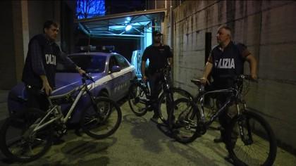 Controlli a tappeto della polizia. Ritrovate 6 bici rubate – FOTO