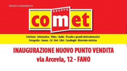 Comet – Inaugurazione nuovo punto vendita a Fano