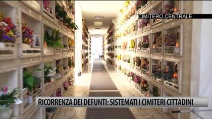 Ricorrenza dei defunti: sistemati i cimiteri fanesi – VIDEO