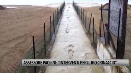 """Assessore Paolini: """"Interventi per il Rio Crinaccio"""" – VIDEO"""