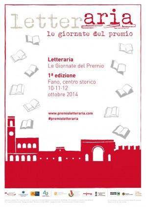 """""""Le Giornate di Letteraria"""": il 10, 11 e 12 ottobre nel centro storico di Fano"""