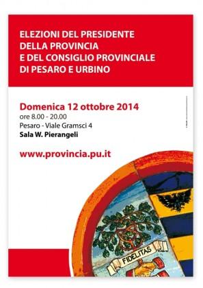 Provincia di Pesaro e Urbino domenica 12 ottobre al voto