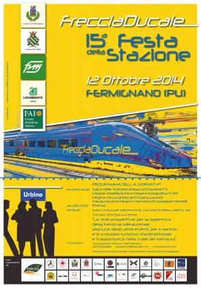 """Fermignano, XV Festa della Stazione: """" La Freccia Ducale"""""""
