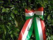 A Caminate l'inaugurazione del monumento ai caduti civili vittime della II guerra mondiale.