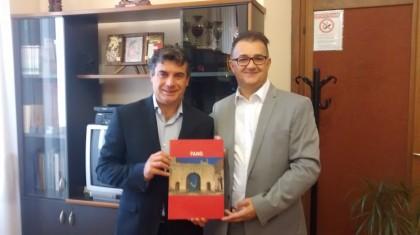 """""""L'U.E. torna a scuola"""": il funzionario CE Nicoletti ha incontrato gli studenti del """"Torelli"""" e della succursale di Pergola"""