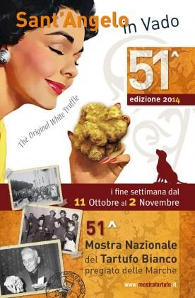 Sant'Angelo in Vado: 51^ edizione della Mostra Nazionale del Tartufo Bianco