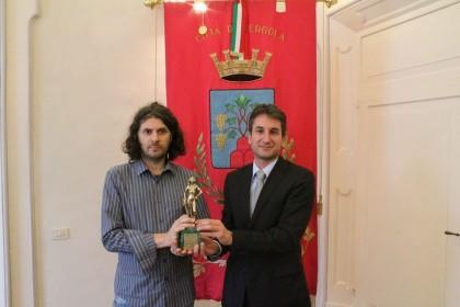 David di Donatello, Simone Massi testimonial della 3^ domenica della Fiera Nazionale del tartufo di Pergola
