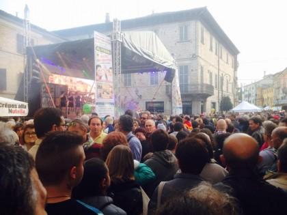 In 20mila alla prima domenica della Fiera Nazionale del Tartufo di Pergola