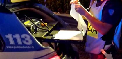 Ubriachi alla guida: sei patenti ritirate nel weekend
