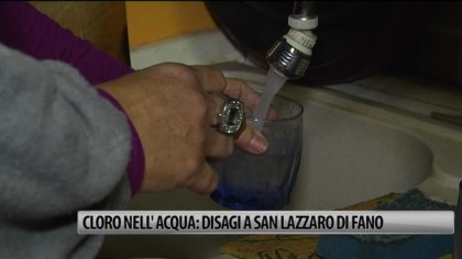 Cloro nell'acqua: disagi a San Lazzaro di Fano – VIDEO
