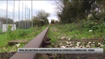 Incontri per decidere sul futuro della Saipem e della ferrovia Fano – Urbino – VIDEO