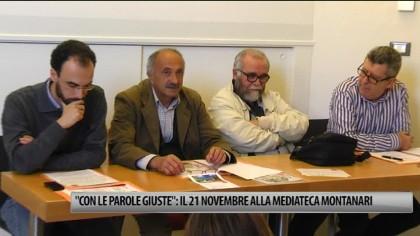 """""""Con le parole giuste"""": il 21 novembre alla Mediateca Montanari – Memo – VIDEO"""