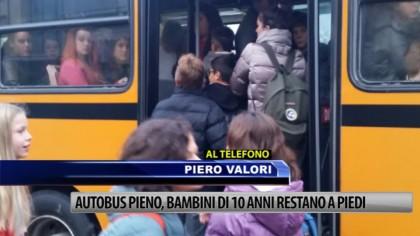 Autobus pieno: bambini di dieci anni restano a piedi – VIDEO