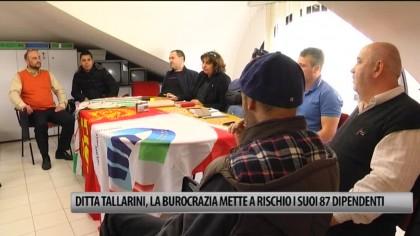 Ditta Tallarini, la burocrazia mette a rischio i suoi 87 dipendenti – VIDEO