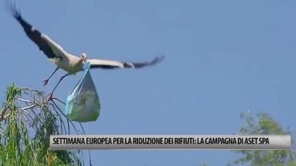 Settimana Europea per la Riduzione dei Rifiuti: la campagna di Aset Spa – VIDEO