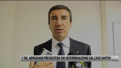 Fano, L'On. Abrignani presenterà un'interrogazione sul caso SAIPEM – VIDEO