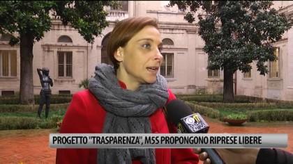 """Progetto """"Trasparenza"""", i Pentastellati propongono riprese libere – VIDEO"""